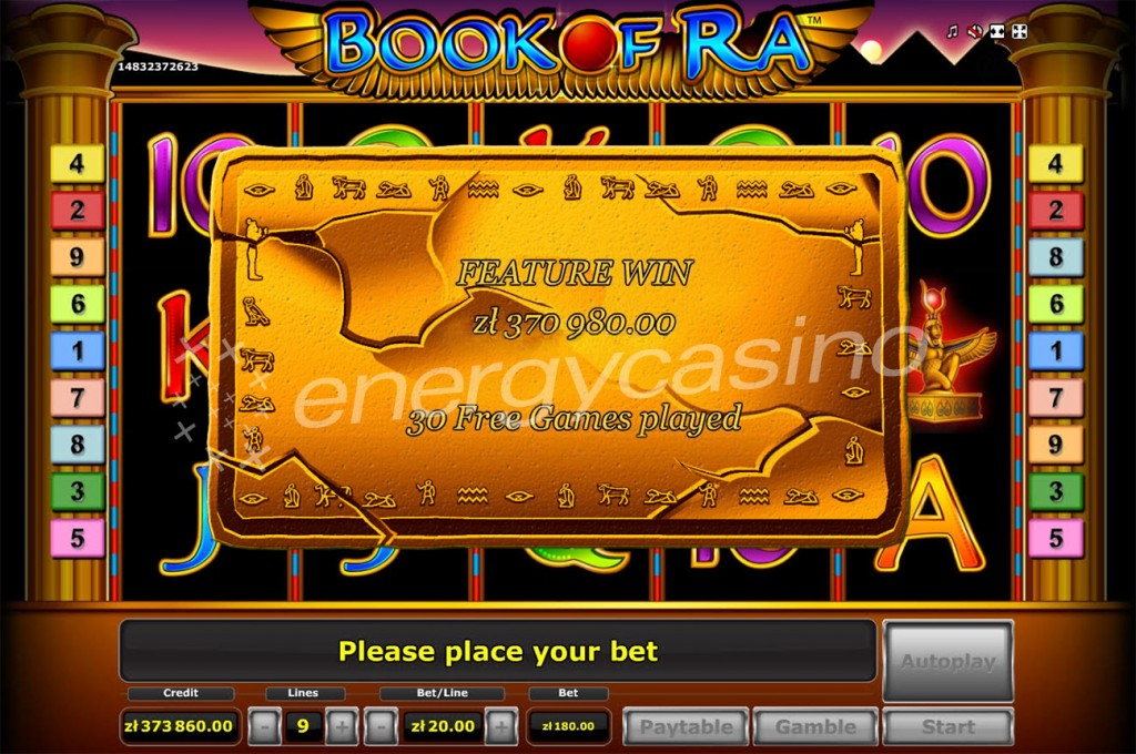 live online casino book of ra gewinn