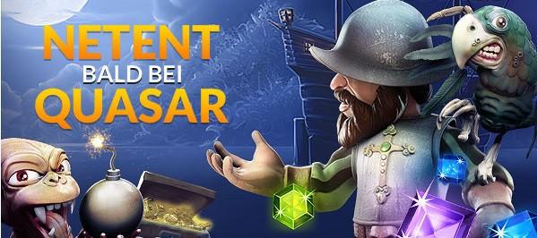 Quasar Gaming Gekundigt Wie Kann Ich Einschalten